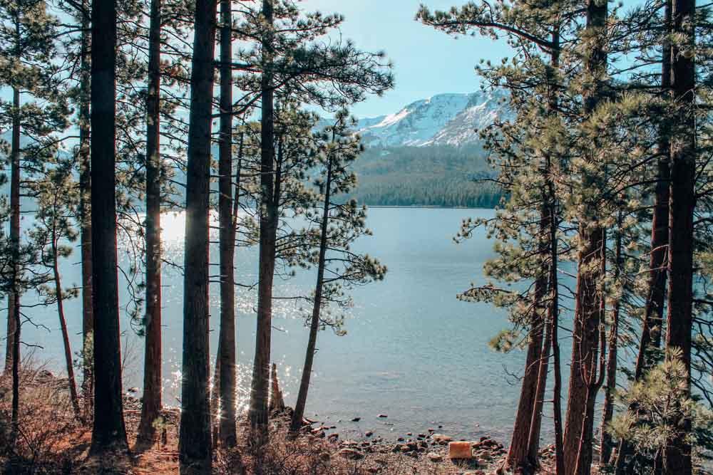 Fallen Leaf Lake near Lake