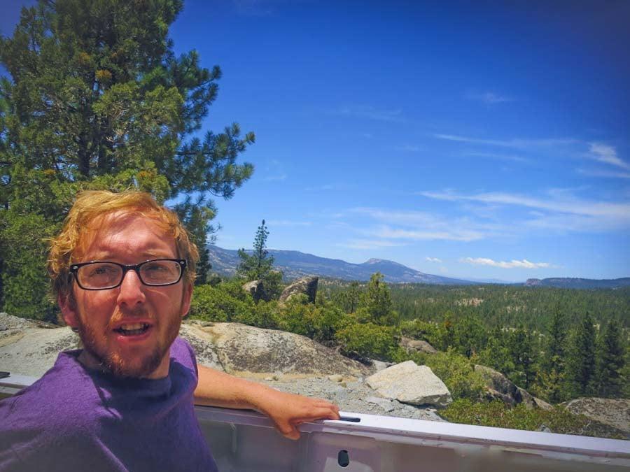 Hiking in Sierra Nevadas