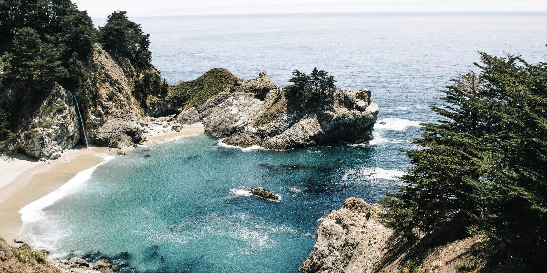 Big Sur is one of the 10 best weekend trips from the San Francisco Bay Area!