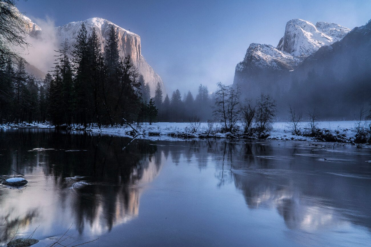 Yosemite Valley, Yosemite National Park, northern California. Yosemite is a perfect weekend trip from the San Francisco Bay Area.