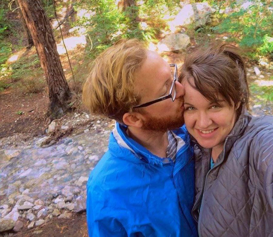Hiking near Mono Hot Springs