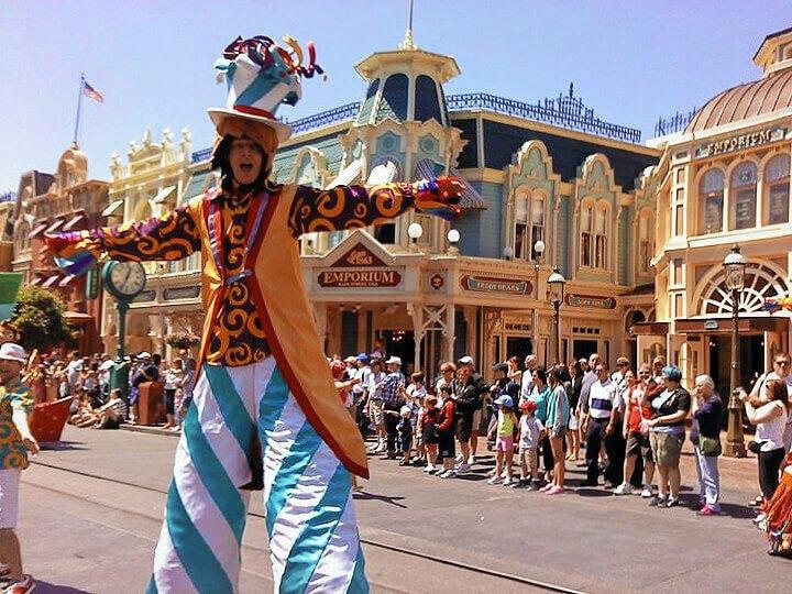 The 3 o'clock parade in Main Street USA, Disney World, Florida!