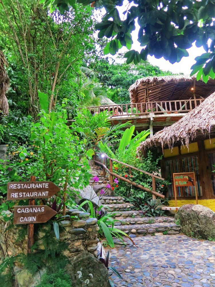 Eco Hostel Yuluka outside of Parque Tayrona, Colombia