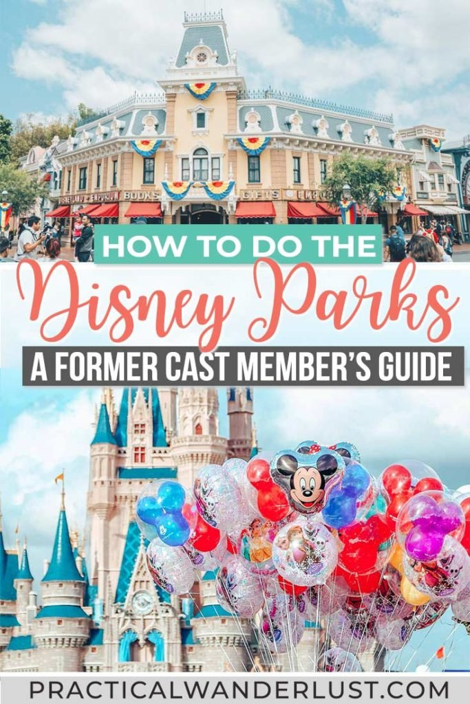 Disney secrets and tips by a former Cast Member for both Disney World and Disneyland. How to save money at Disney parks, how to avoid lines at Disney, secret backstage photos, and an epic Disney World Scavenger Hunt! #DisneyTips