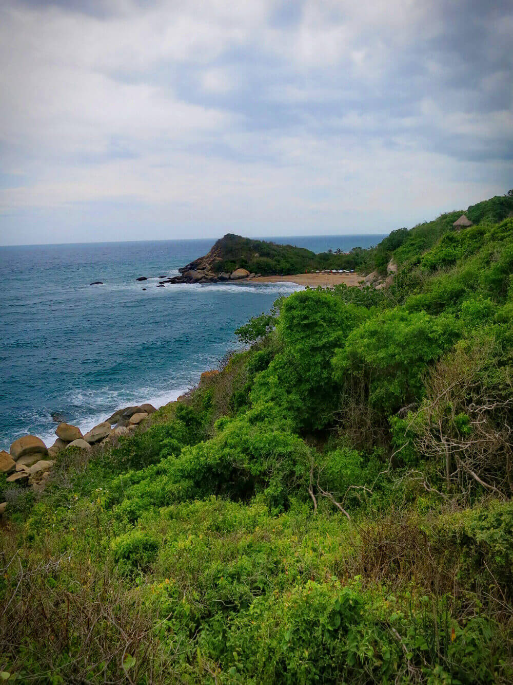 Parque Tayrona, Colombia: gorgeous, but not easy to get to.