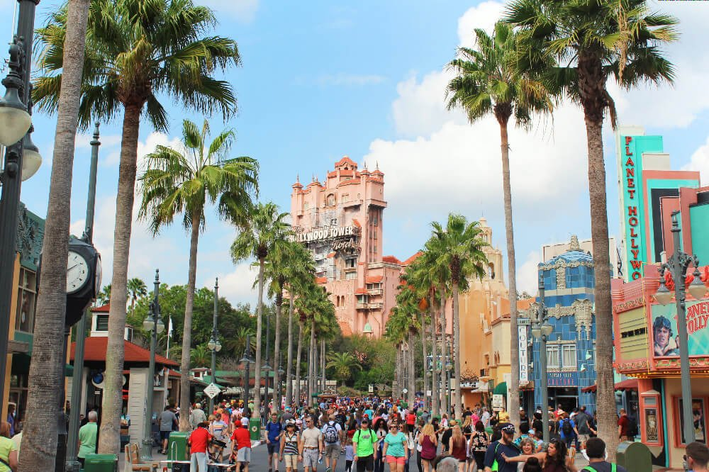 Tower of Terror in Disney World, Florida.