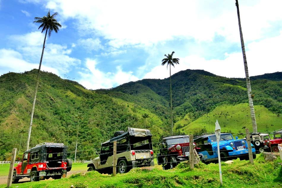 Getting from Salento to Valle de Cocora