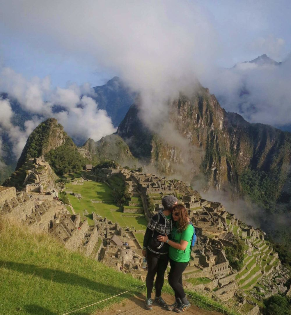 Meet Lia & Jeremy, the intrepid travel couple behind Practical Wanderlust! Here we are at Machu Picchu, Peru, after a complete failure of a 4-day Inca Trail trek (we only made it 1.5 days).