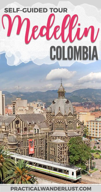 A budget friendly self-guided city tour of Medellin, Colombia using public transit. A complete guide to how to see the city of Medellin for under $5! What to do in Medellin | Colombia Travel | Medellin Travel | South America Travel | Budget Friendly Medellin | Cheap things to do in Medellin | Medellin on a budget