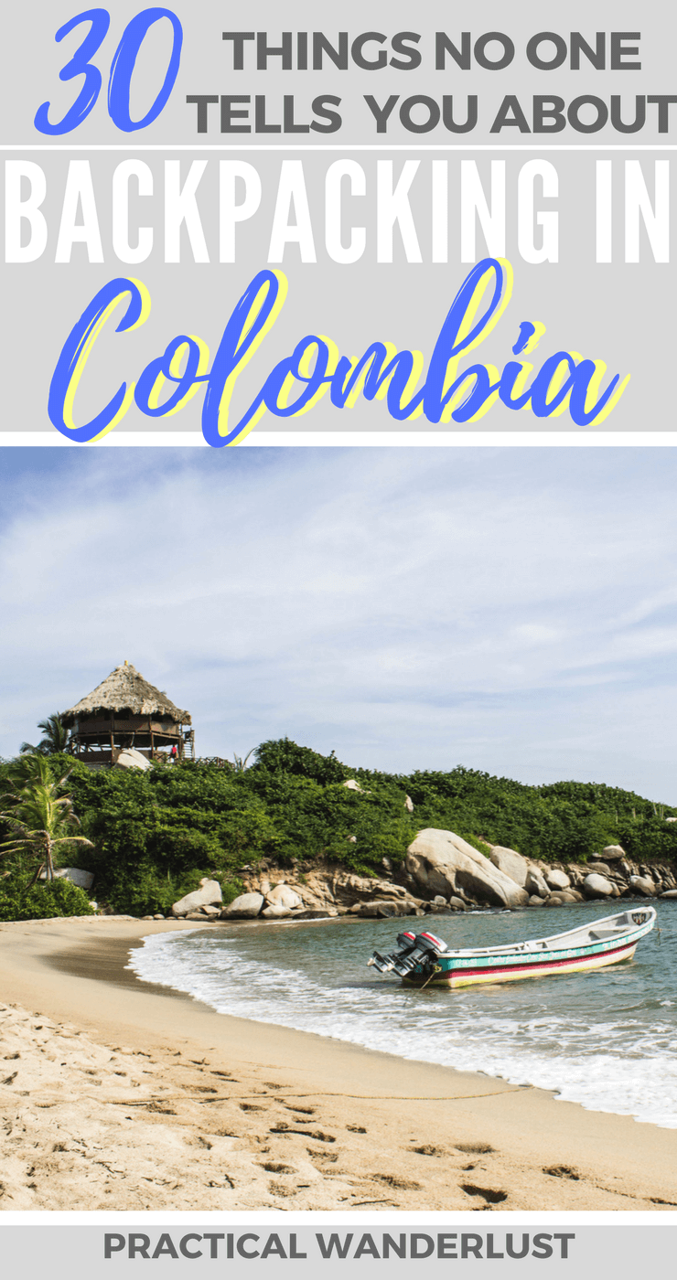 "From ""tranquilo"" to Shakira and everything in between. 30 things nobody told us about before we spent 1 month backpacking in Colombia!"