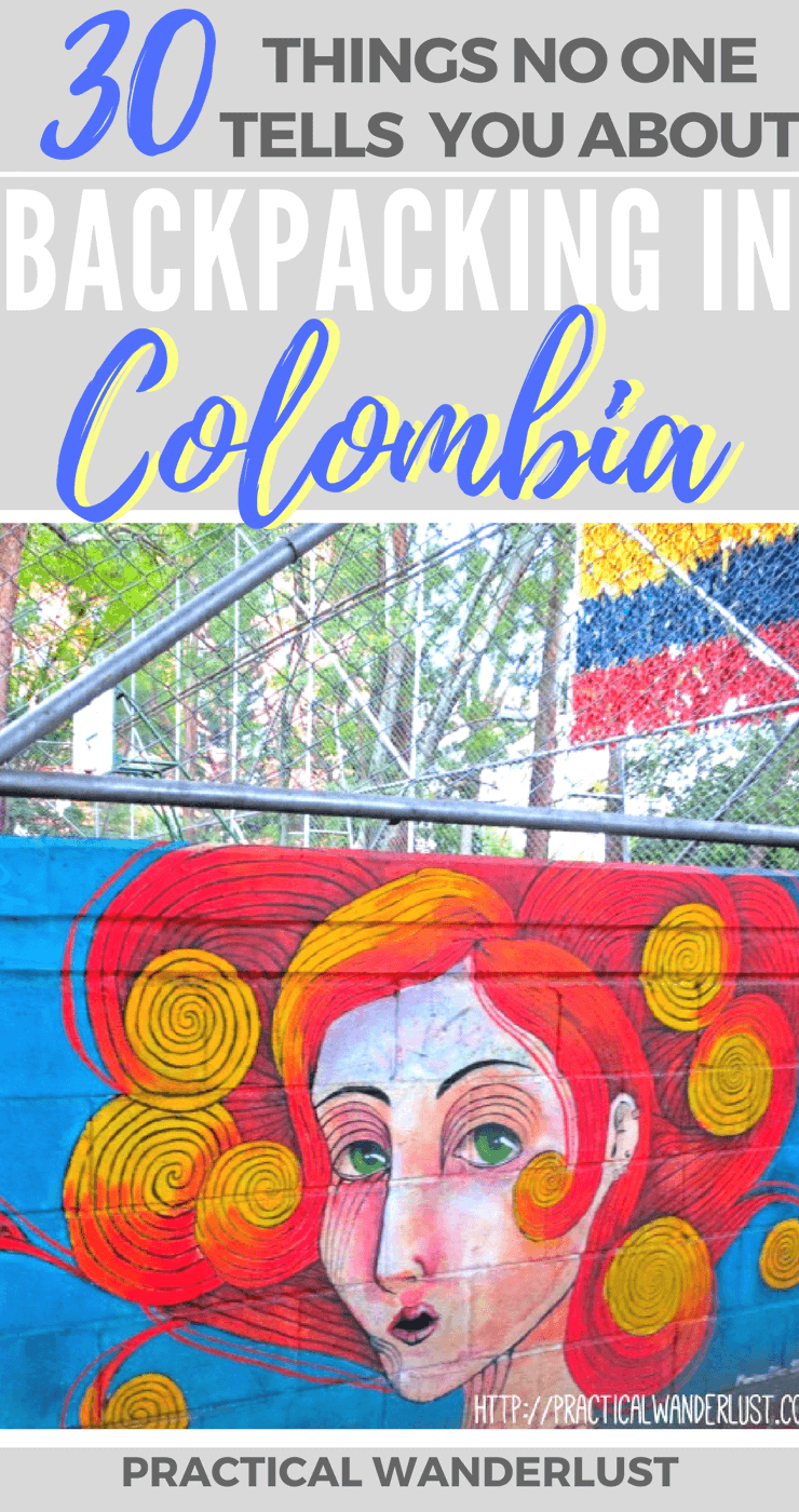 "From ""tranquilo"" to reggaeton to Aguila and everything in between. 30 things nobody told us about before we spent 1 month backpacking in Colombia!"