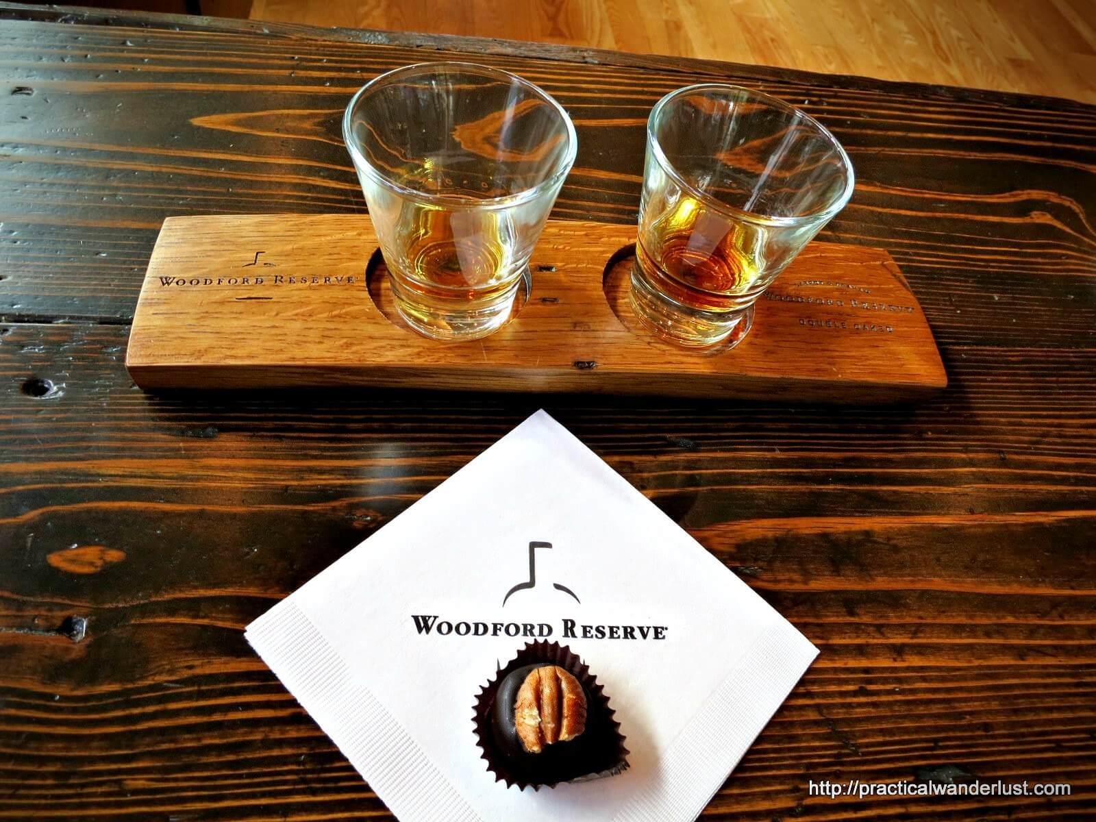 Bourbon Tasting at the Woodford Reserve Distillery in Louisville. The best part? Bourbon balls are included in your tour and tasting!