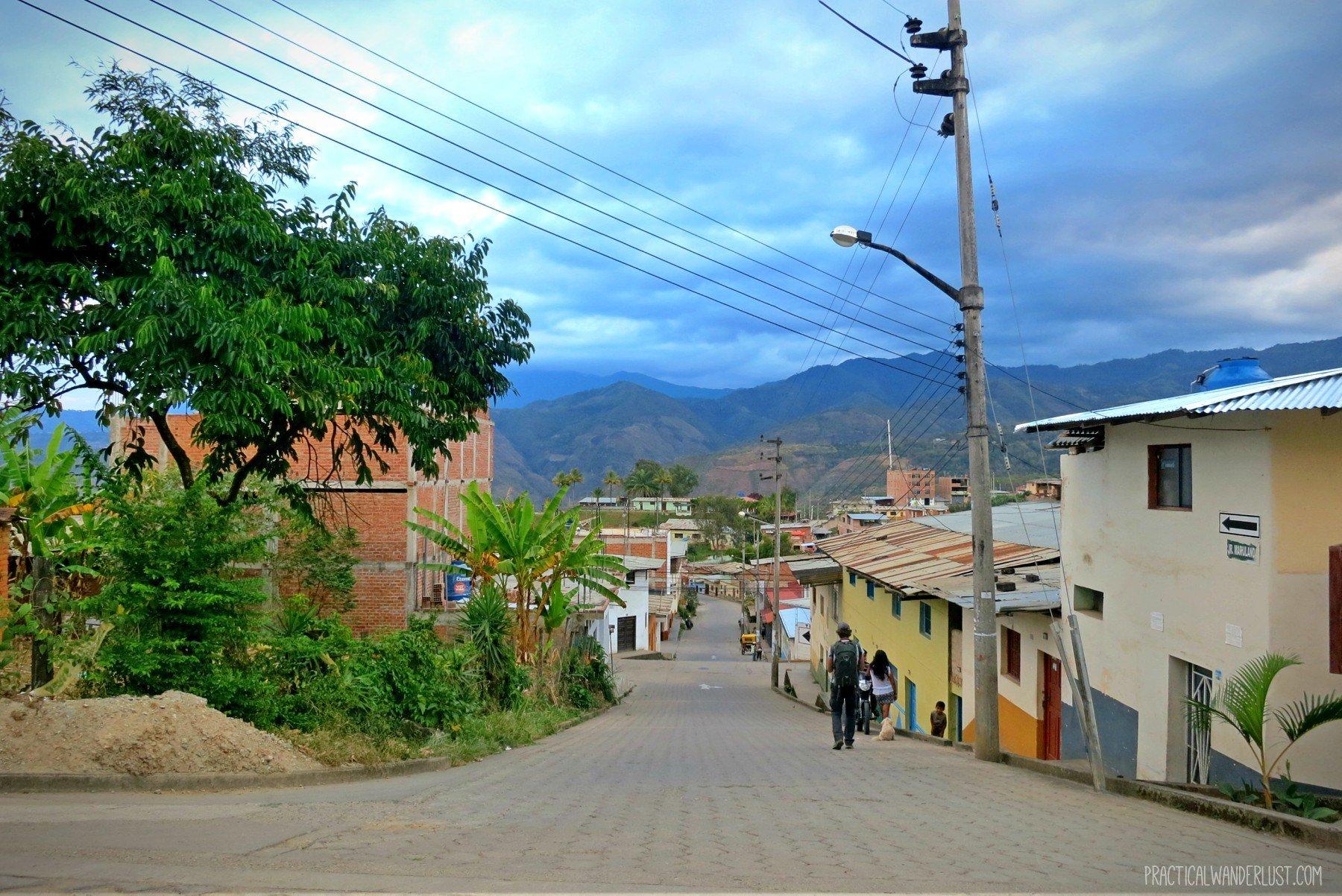 San Ignacio, Peru, part of the La Balsa Border Crossing from Ecuador.