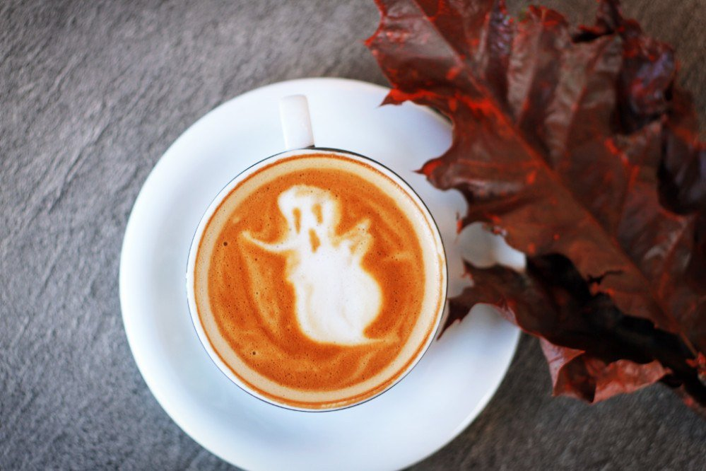 Pick up a coffee at Quills in Old Louisville to sip as you chase ghosts on a spooky haunted walking tour! It's one of the best ways to celebrate Halloween in Louisville, Kentucky!