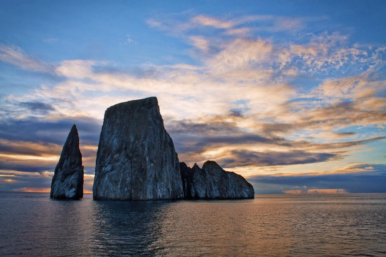 Kicker Rock is the most popular day tour from San Cristobal Island in the Galapagos. Learn more in our complete guide to the Galapagos Islands by land.