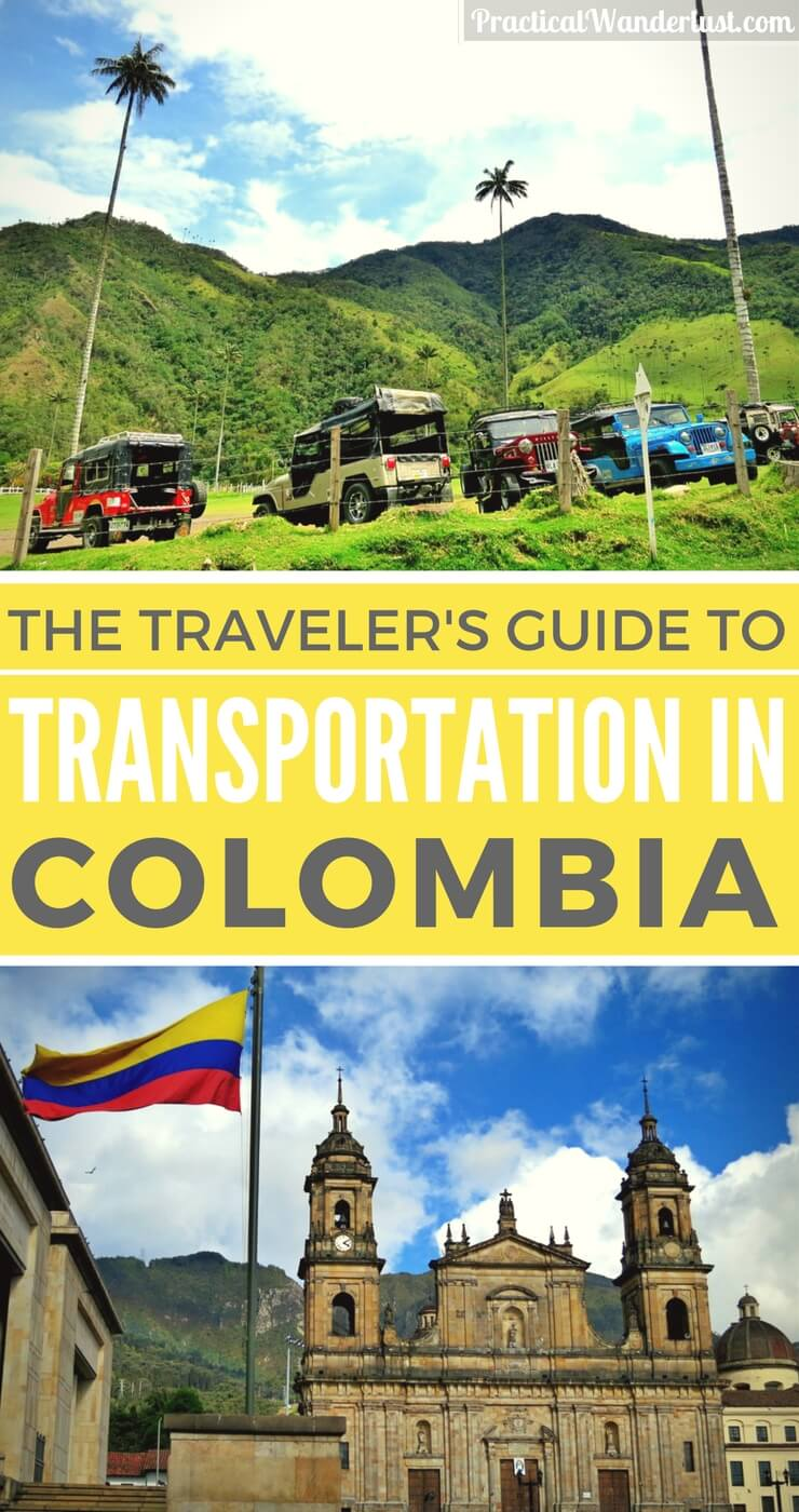 A traveler's guide to transportation in Colombia, from colectivos to buses to mototaxis and everything in between! After a month of backpacking, we figured out everything you need to know to get around Colombia.