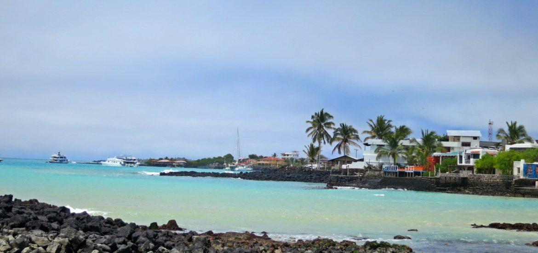 Puerto Ayora, Santa Cruz Island in the Galapagos.