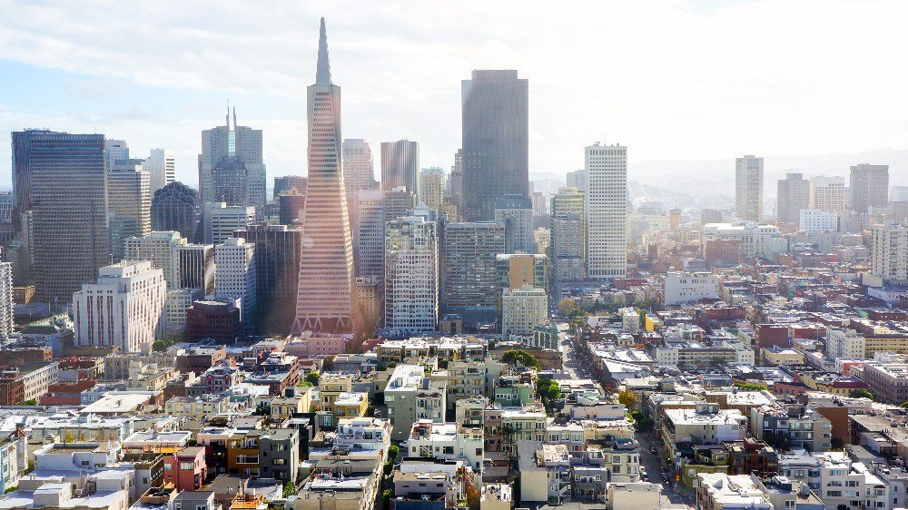 San Francisco, California. Take the self-guided walking tour of San Francisco!