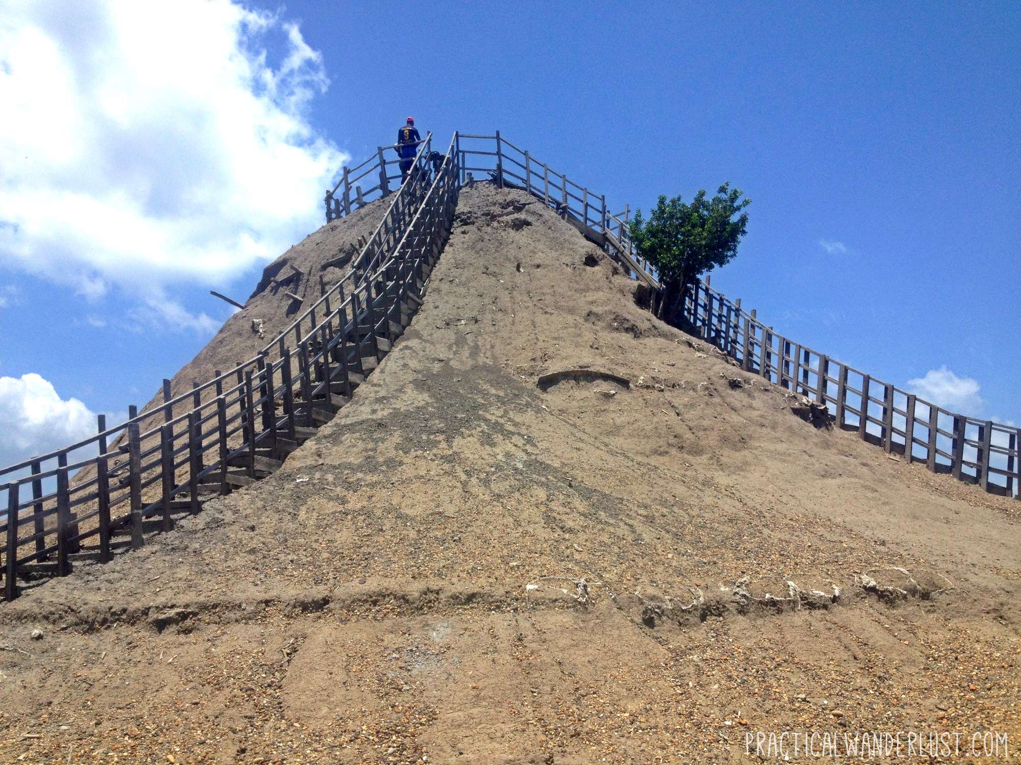 Volcan Totumo, a dormant volcano in which you can take mud baths, outside of Cartagena, Colombia.
