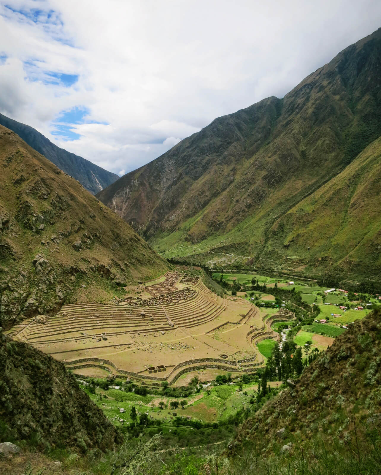 Along the Inca Trail to Machu Picchu there are many fascinating ancient ruins. Our guide from Alpaca Expeditions gave us a detailed background and story behind each of them. We love that there are 4 days of learning about Incan Culture BEFORE Machu Picchu!