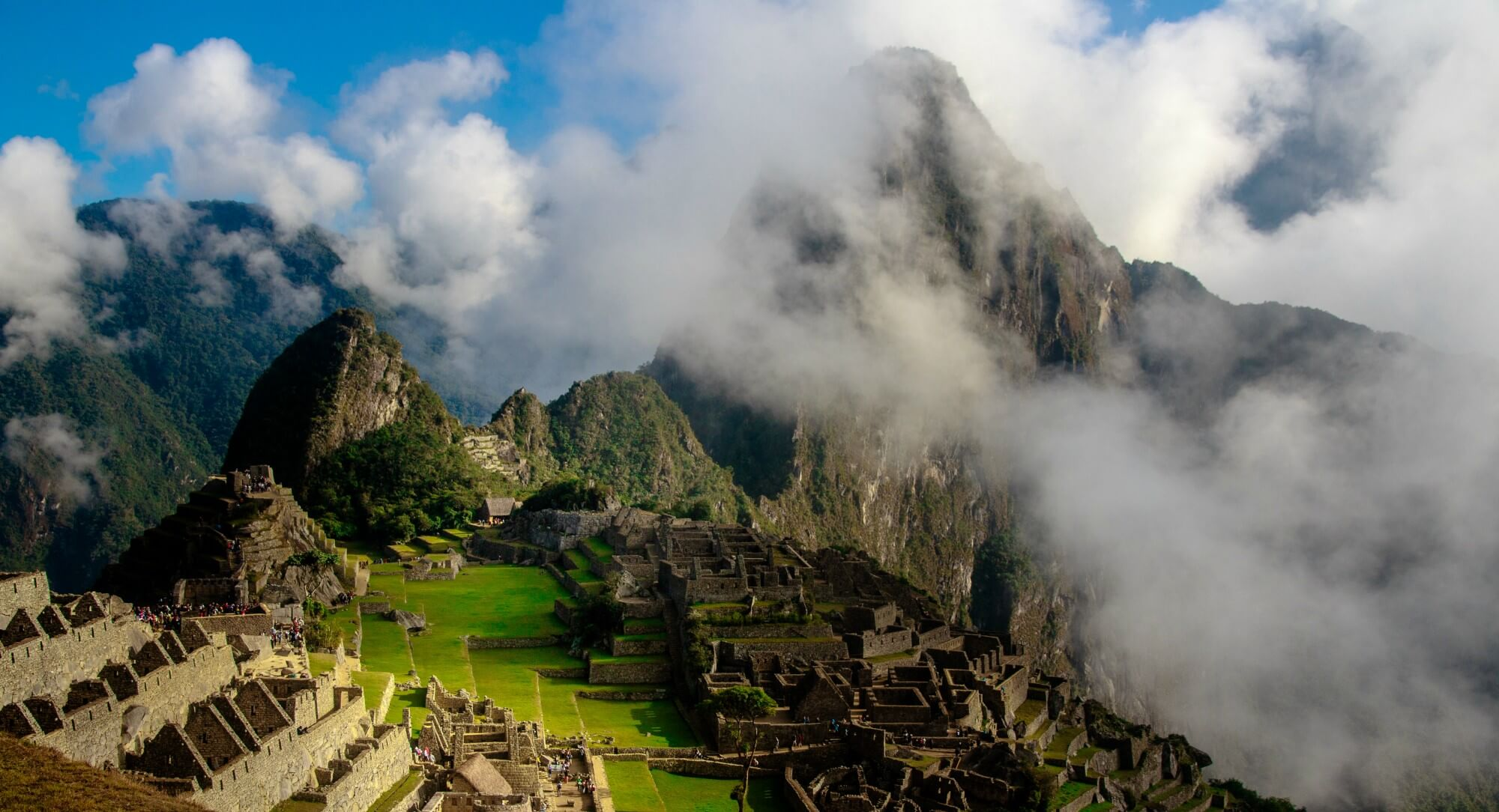 Hiking Machu Picchu in Peru