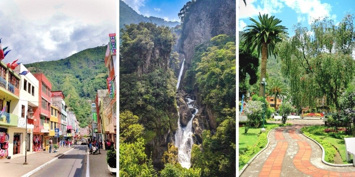 Banos, Ecuador is an adventure town, a spa town, and an absolute must-visit destination in Ecuador. Discover all of the best things to do in Banos de Agua Santa, Ecuador!