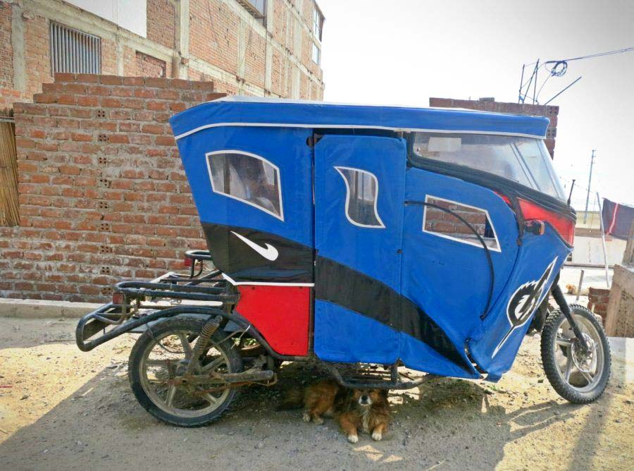 Transport for backpacking Peru