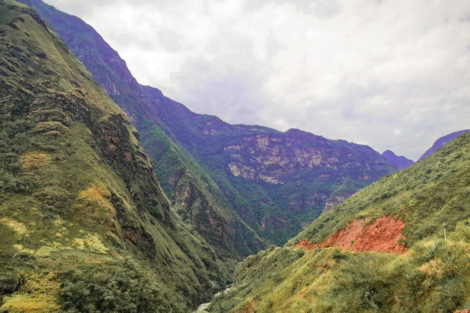 Bus trip from Ecuador to Peru