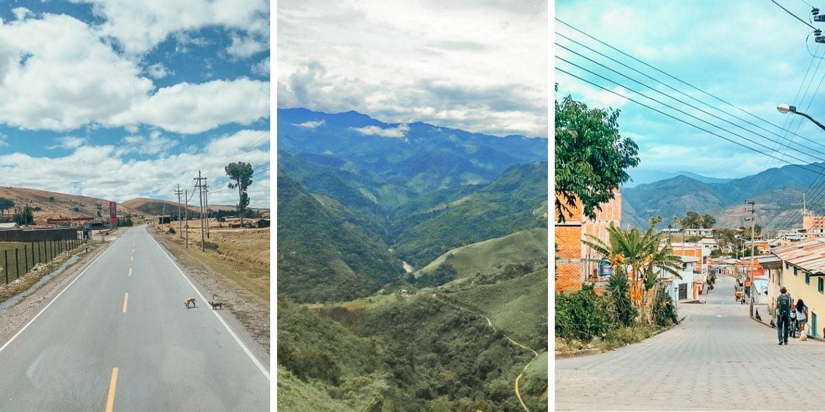 Crossing the border from Ecuador to Peru: La Balsa Border crossing