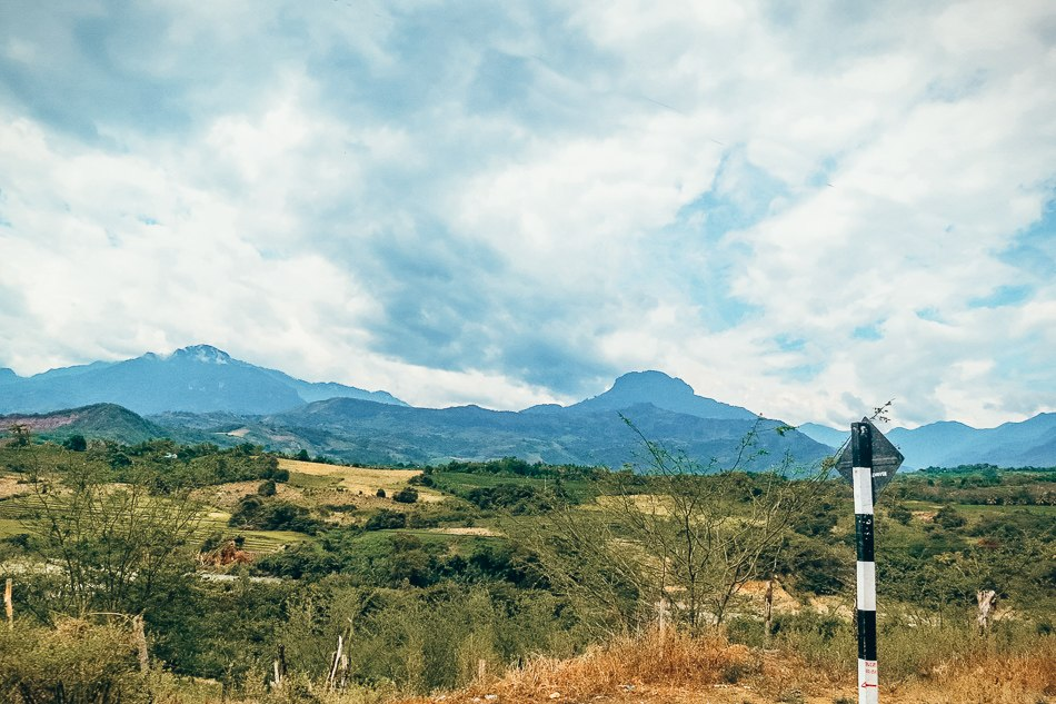 Crossing the La Balsa Border near San Ignacio, Peru