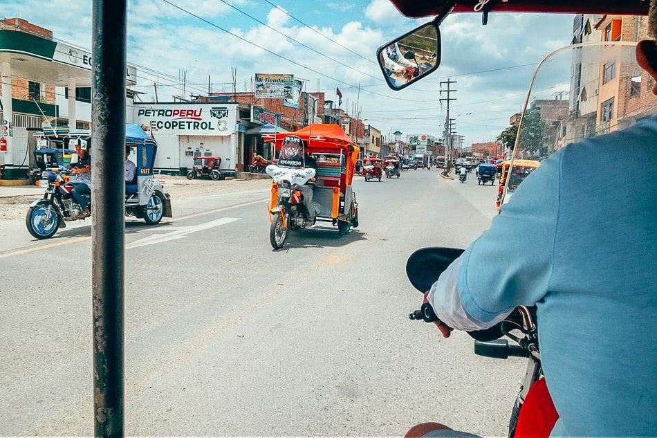 Mototaxi In Jaen, Peru from Ecuador