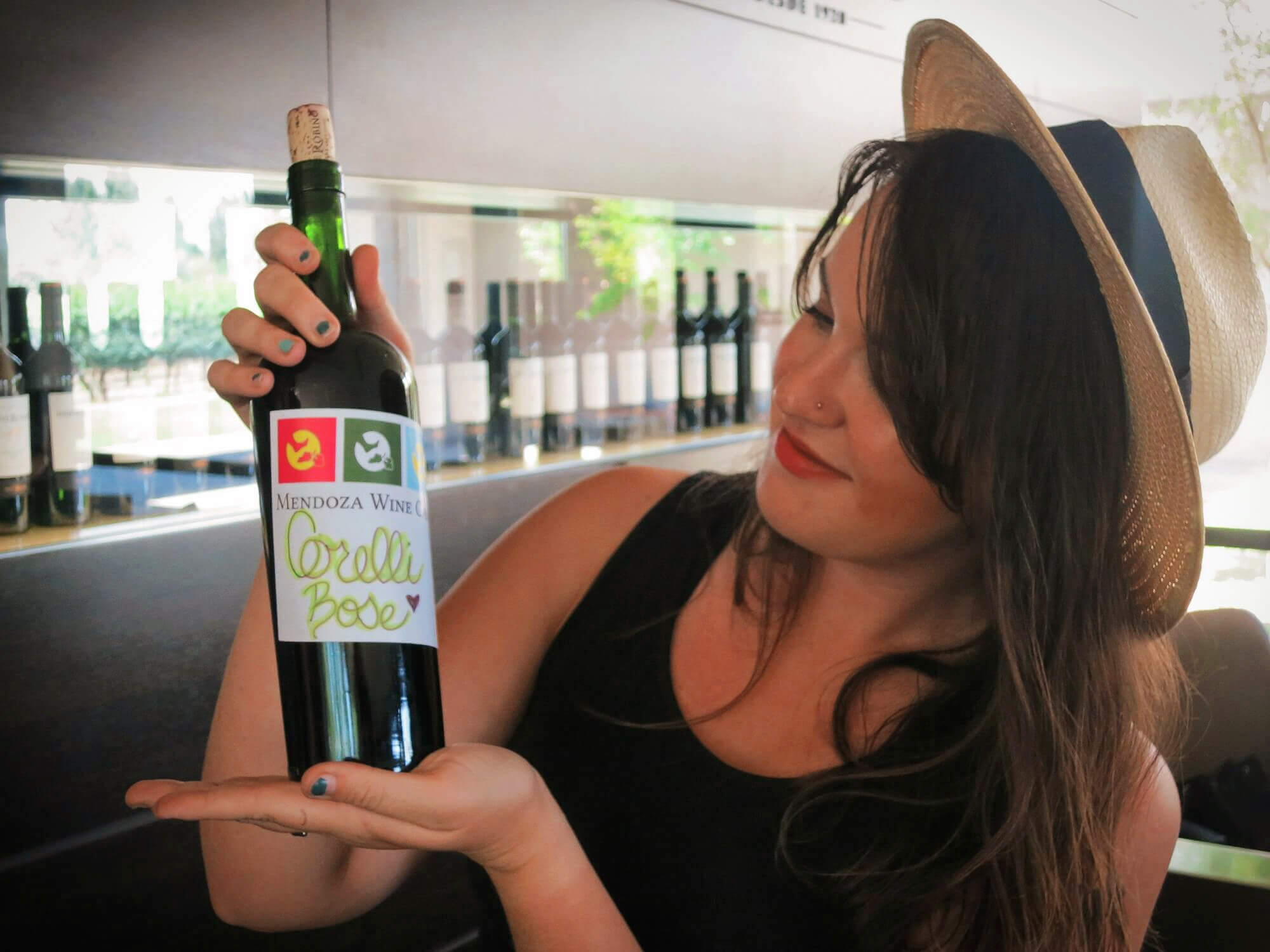 We created our own blend of wines and took home a bottle of our creation in Mendoza, Argentina with Mendoza Wine Camp!