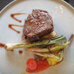 Filet Mignon during our 6-course wine and food pairing with Mendoza Wine Camp in Mendoza, Argentina.