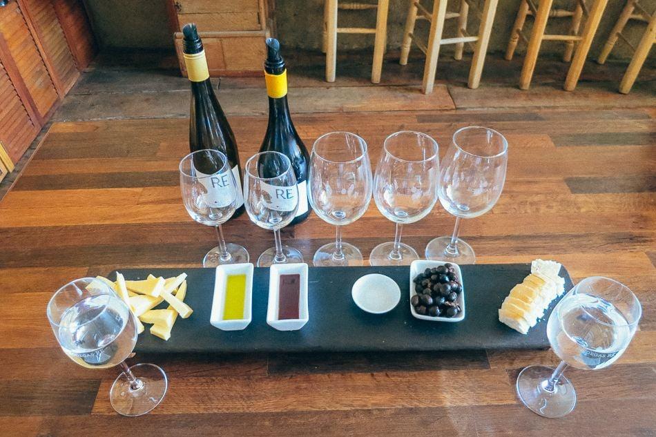 Bodegas Re winery near Santiago, Chile