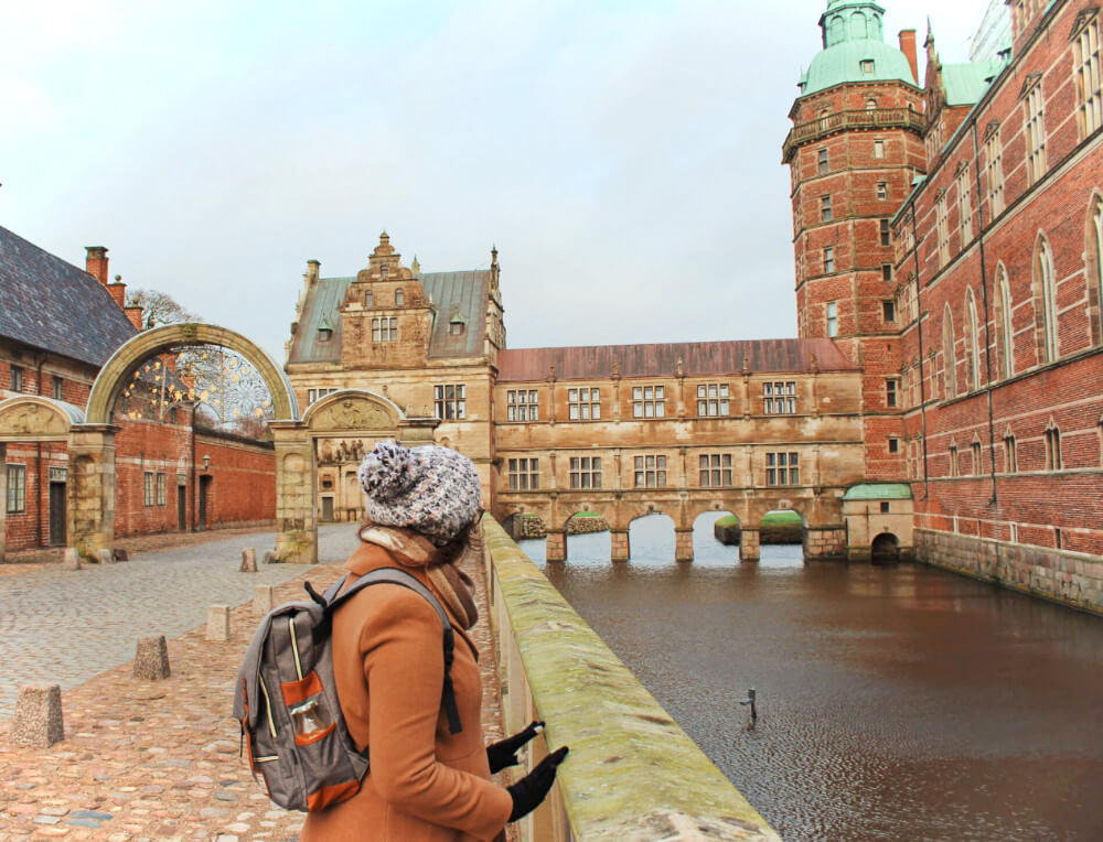 Frederiksborg Castle is a fairytale castle near Copenhagen, Denmark. We visited in the winter.