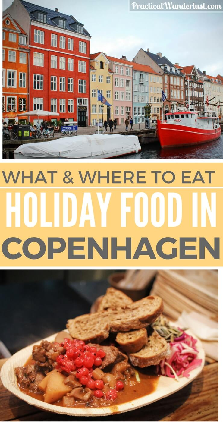 Winter in Copenhagen, Denmark is a Christmas dream: hearty stews, warm spiced wine, crackling roasts, and festive Christmas Markets cover the city. Danish food is at its best during Jul (Danish Christmas). From sweet pickled herring to apple pancake puffs, the holiday food in Copenagen is unique and absolutely delicious. Find out what to eat in Copenhagen this winter.