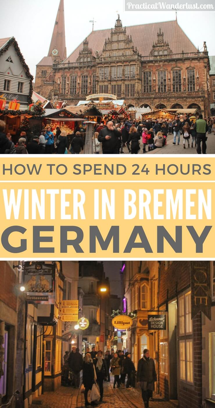 Visiting Germany in the winter? The fairytale town of Bremen is a magical holiday wonderland, filled with good cheer, delicious food and historic beauty. What to do in Bremen in winter? There are tons of things to do in Bremen!