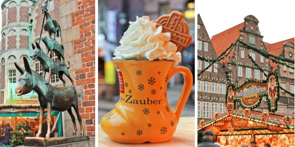Visit Bremen, Germany in the winter for a magical fairytale winter wonderland and some of the best German Christmas Markets!