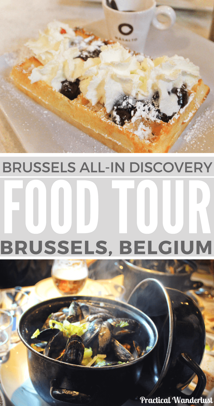 Beer, chocolate, waffles, conspiracy theories and more. The best way to see Brussels, Belgium is on a food tour!