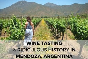 Argentina Wine Tasting & Ridiculous History with Mendoza Wine Camp
