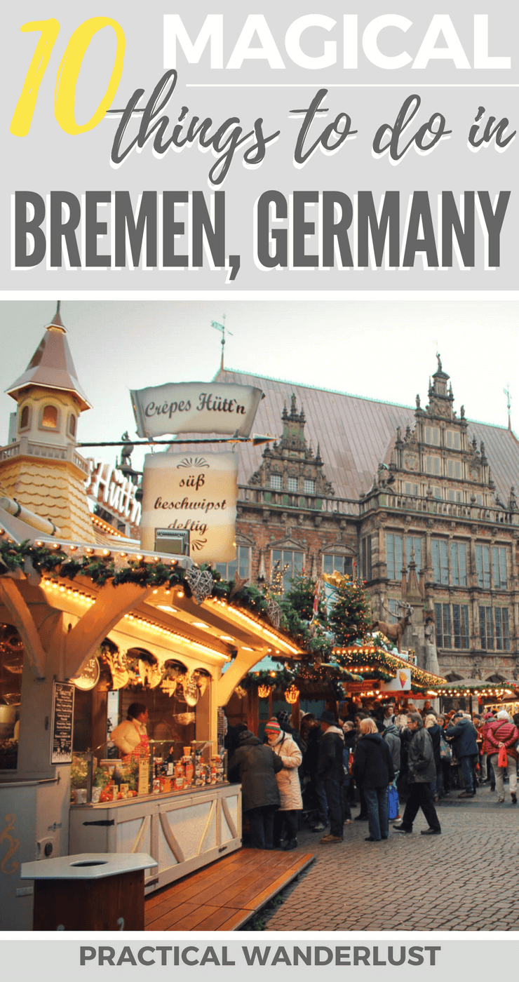 Bremen, Germany in the winter is an adorable fairytale town - literally, it's famous because of a fairytale. Here's 10 things to do in Bremen in winter!