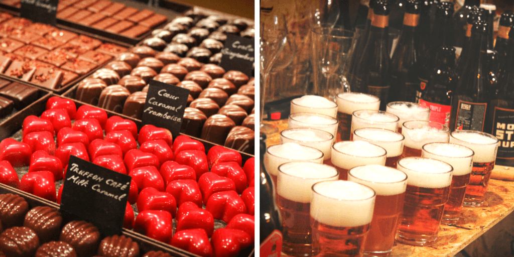 The Brussels Beer & Chocolate Tour: why choose just one? This Brussels food tour combines the best of both worlds!