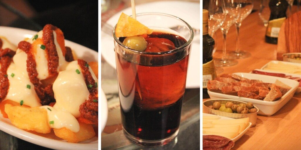 The Devour Barcelona food tour: wine tasting and tapas in Barcelona, Spain.
