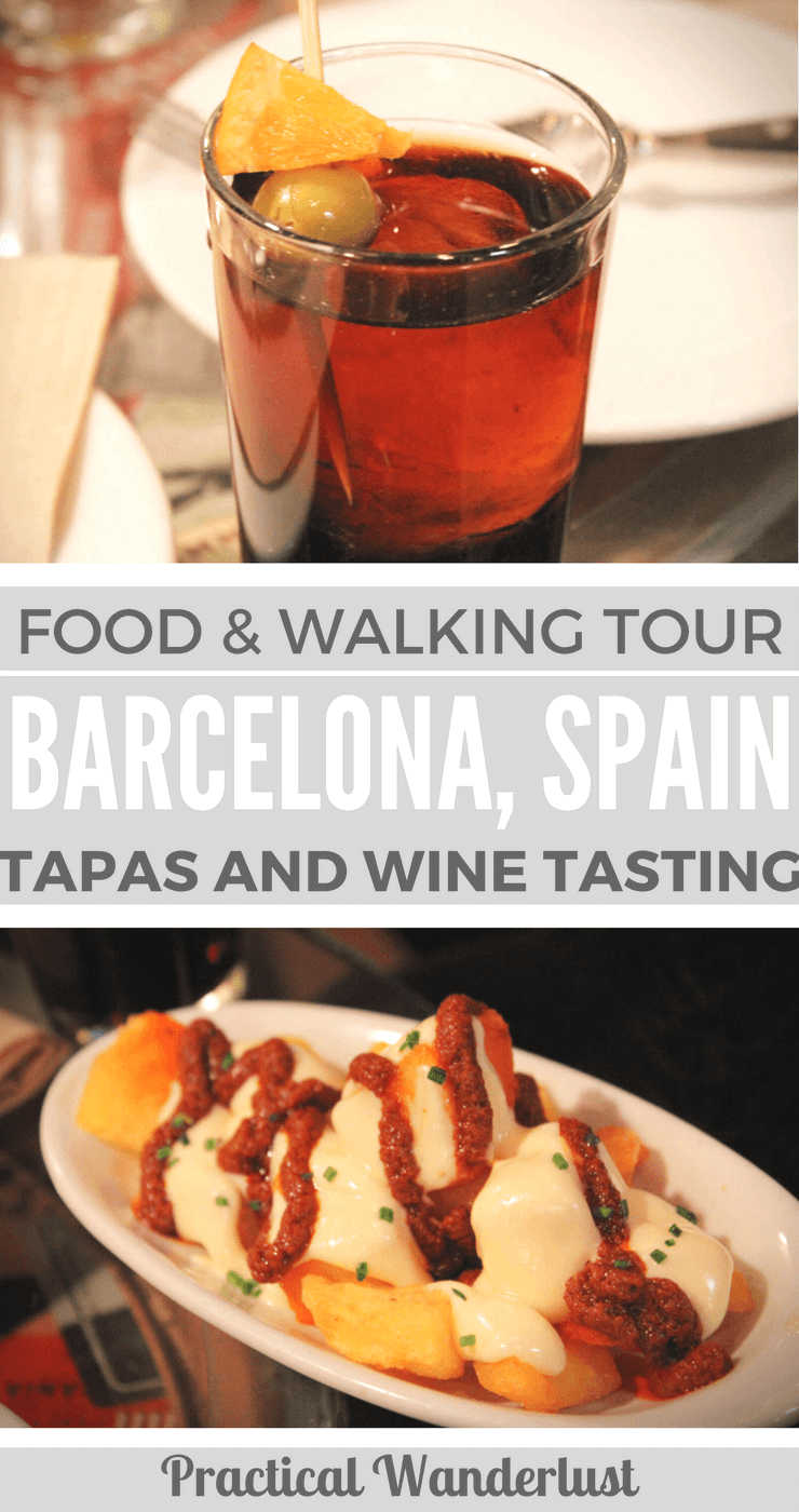Barcelona, Spain wine tasting and food tour. Eat your way through tapas and Spanish wine in Barcelona.