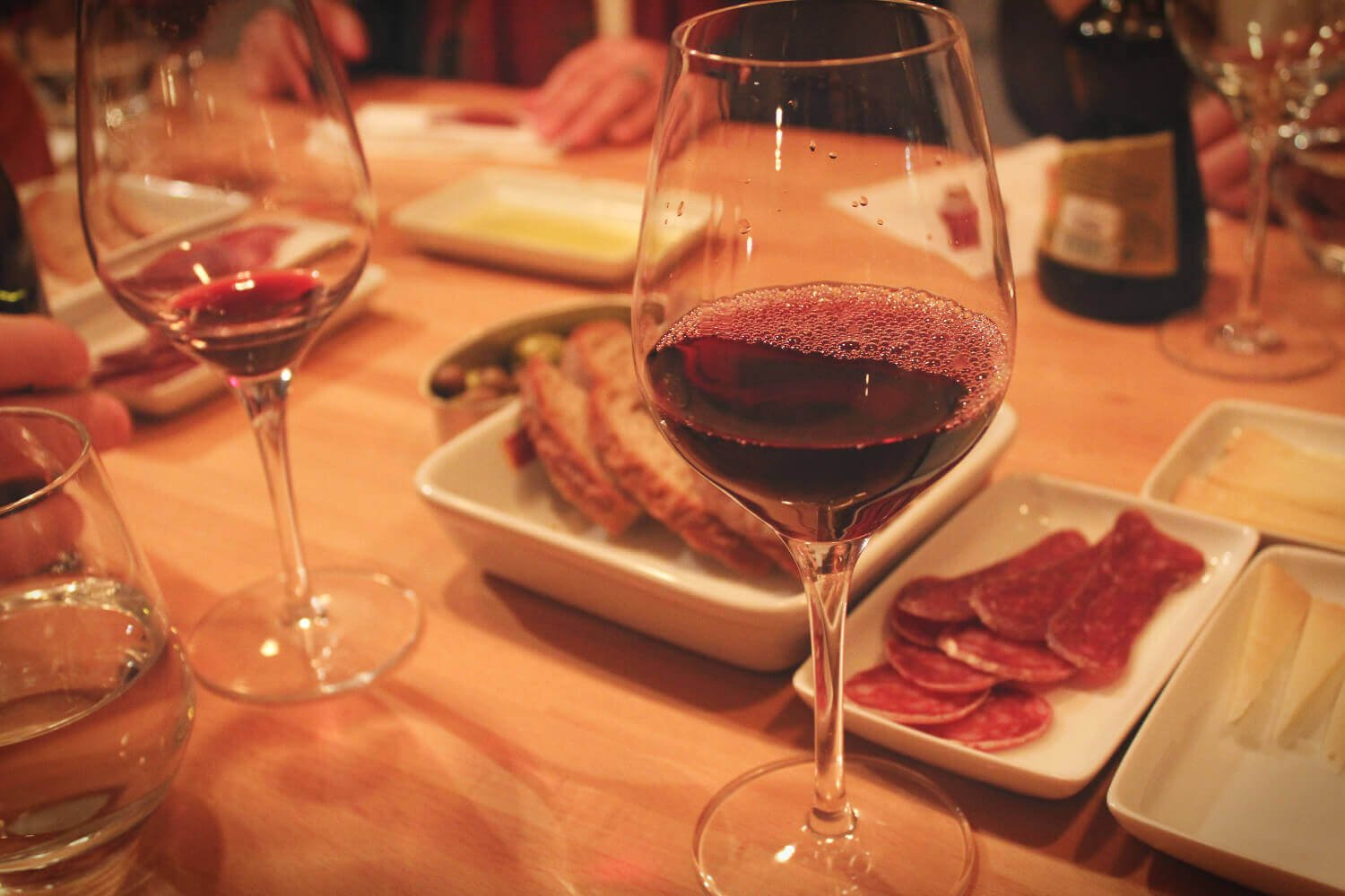 Spanish wine on the Devour Barcelona wine tasting and food tour in Barcelona, Spain!