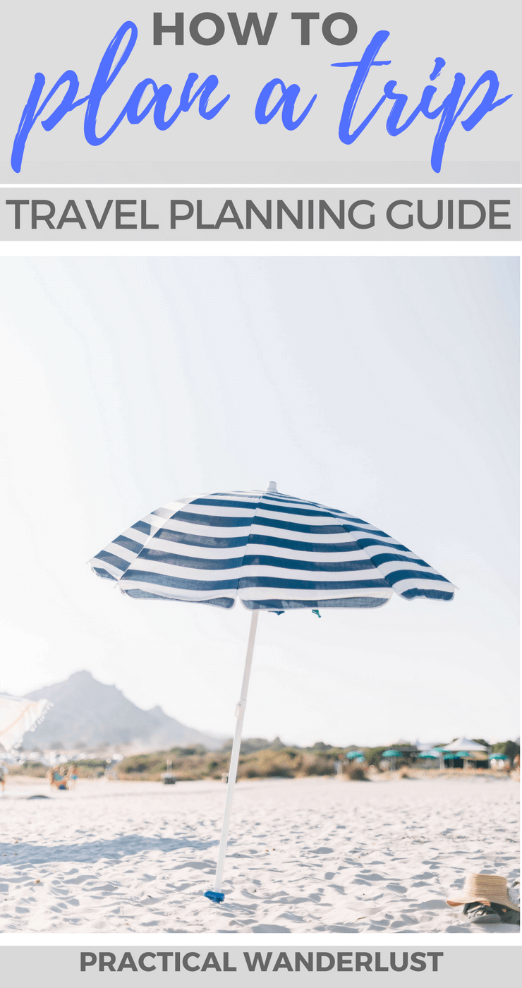 A comprehensive travel planning guide. Learn how to plan a trip from scratch, with plenty of travel planning resources to help you vacation stress-free!