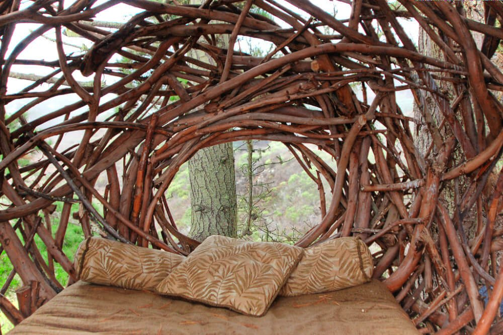 This ridiculous human-sized nest in Big Sur is one of the most unique places to stay near San Francisco.