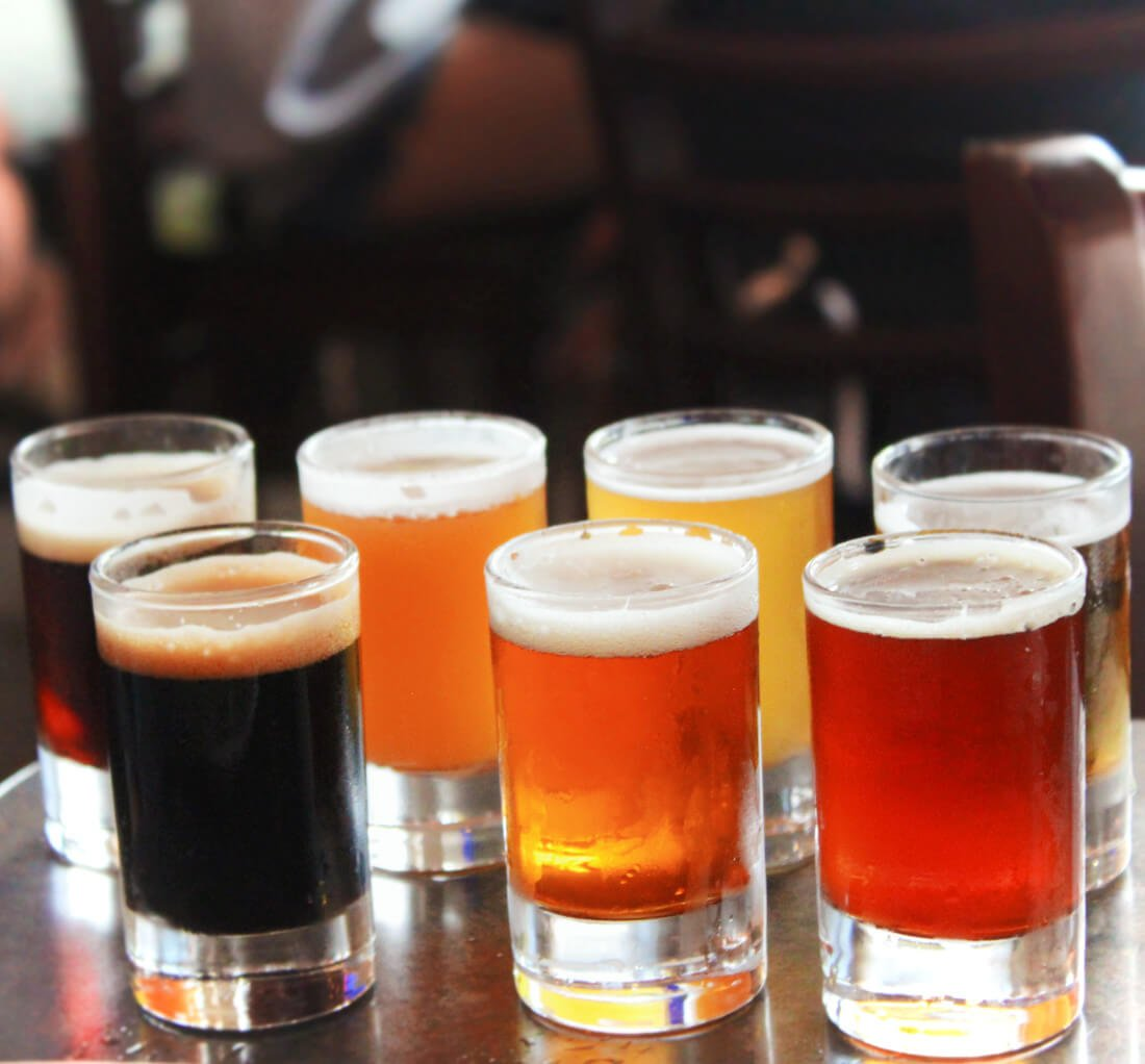 The South Bay craft beer & bikes bar crawl on the Strand in Hermosa, Manhattan, and Redondo beaches in Los Angeles.