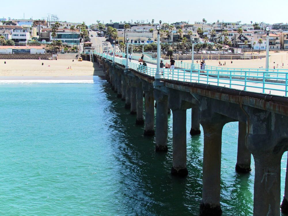 South Bay Beaches in Los Angeles on The Strand