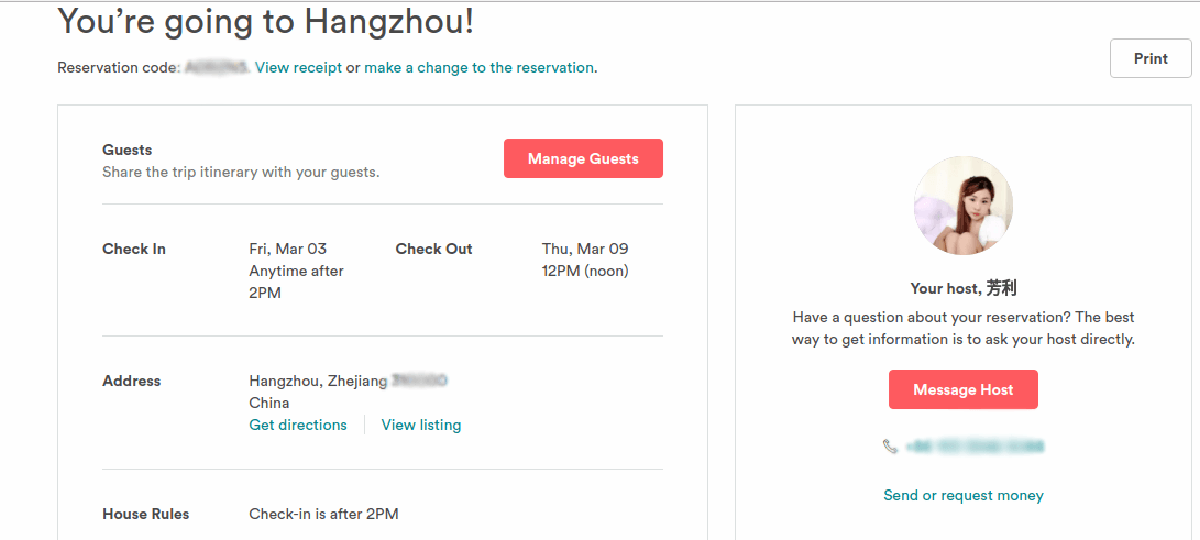 Our AirBnB account was hacked by someone in China!